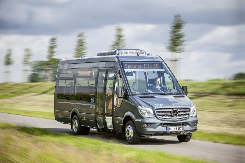 Mercedes-Benz Sprinter W906 рестайлинг Микроавтобус