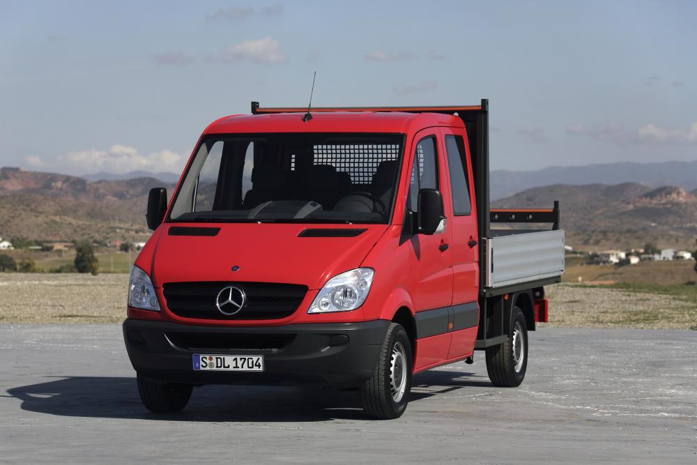 Mercedes-Benz Sprinter W906 Борт 4-дв.