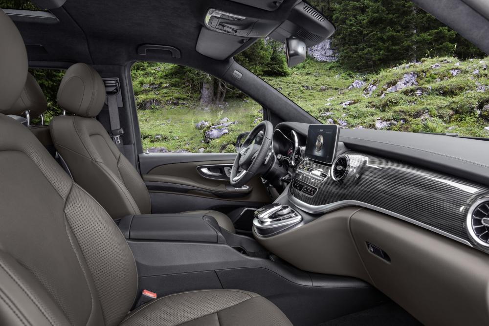 Mercedes-Benz V-Класс W447 рестайлинг интерьер