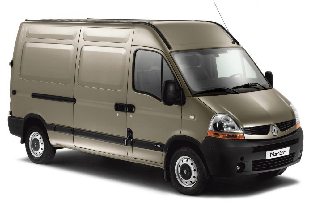 Renault Master 2 поколение 2-й рестайлинг фургон