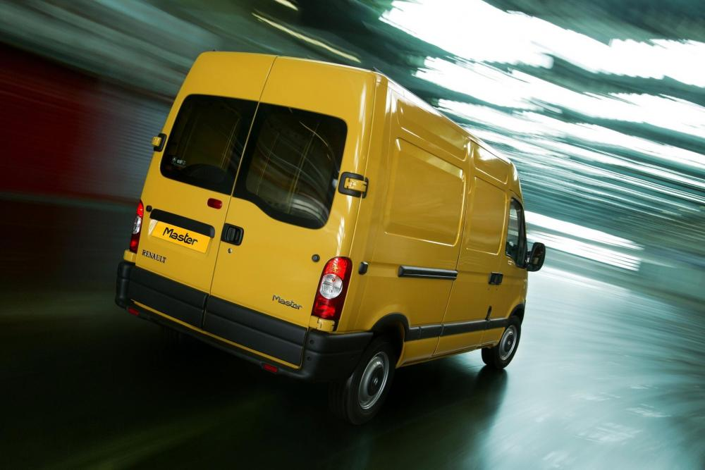 Renault Master 2 поколение рестайлинг