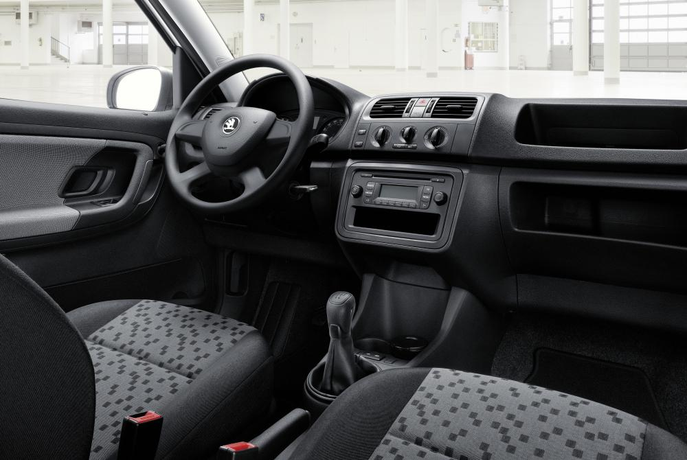 Skoda Praktik 1 поколение [рестайлинг] (2010-2015) Фургон интерьер