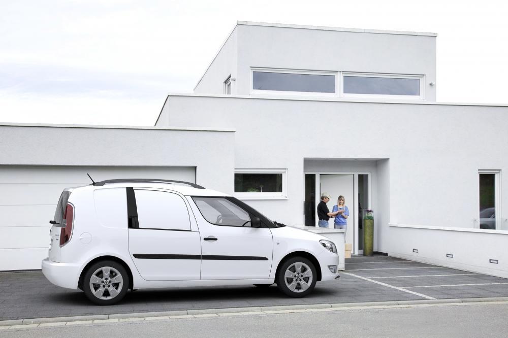 Skoda Praktik 1 поколение [рестайлинг] (2010-2015) Фургон