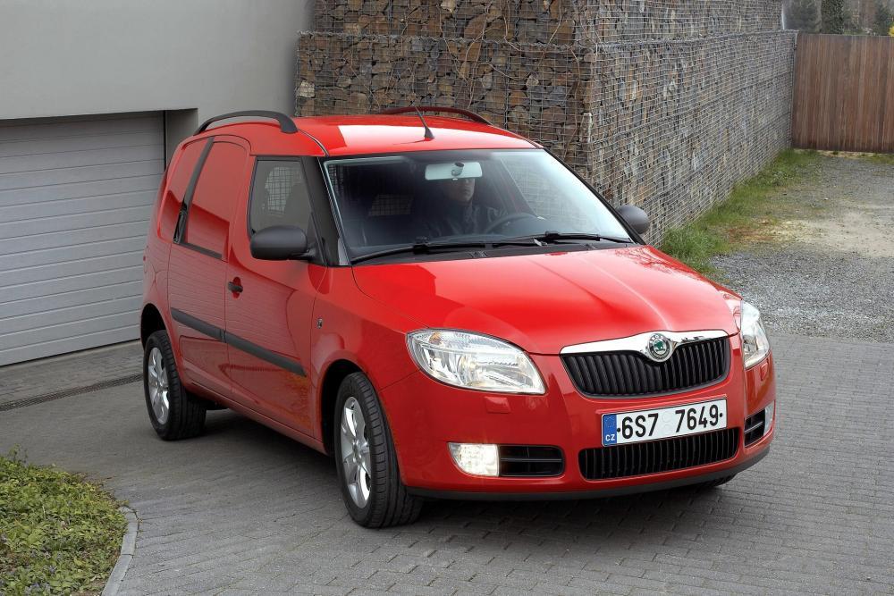 Skoda Praktik 1 поколение (2007-2010) Фургон