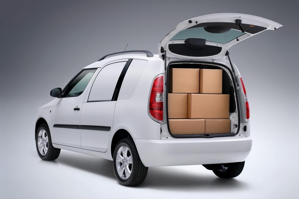 Skoda Praktik 1 поколение (2007-2010) Фургон багажник