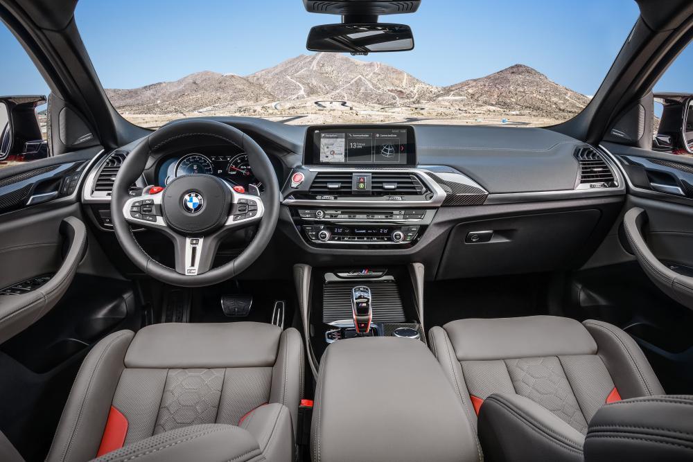 BMW X4 M (F98) 1 поколение (2019) Кроссовер интерьер