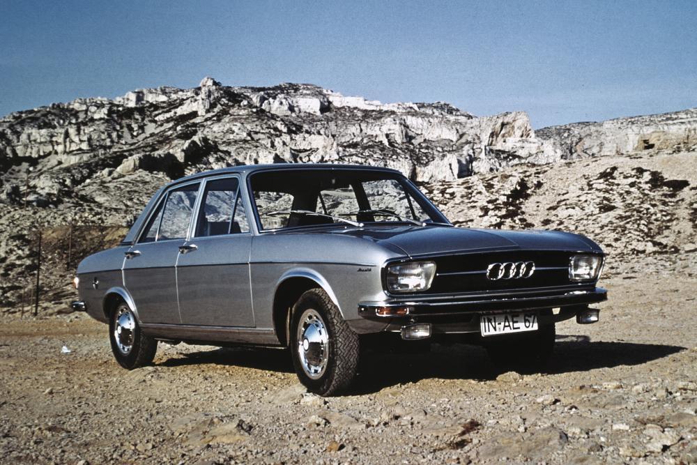 Audi 100 С1 (1968-1972) Седан 4-дв.