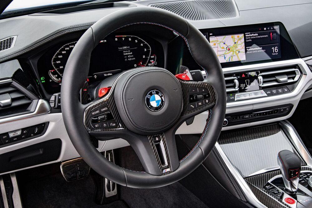 BMW M3 6 поколение (G80) (2020) Седан интерьер