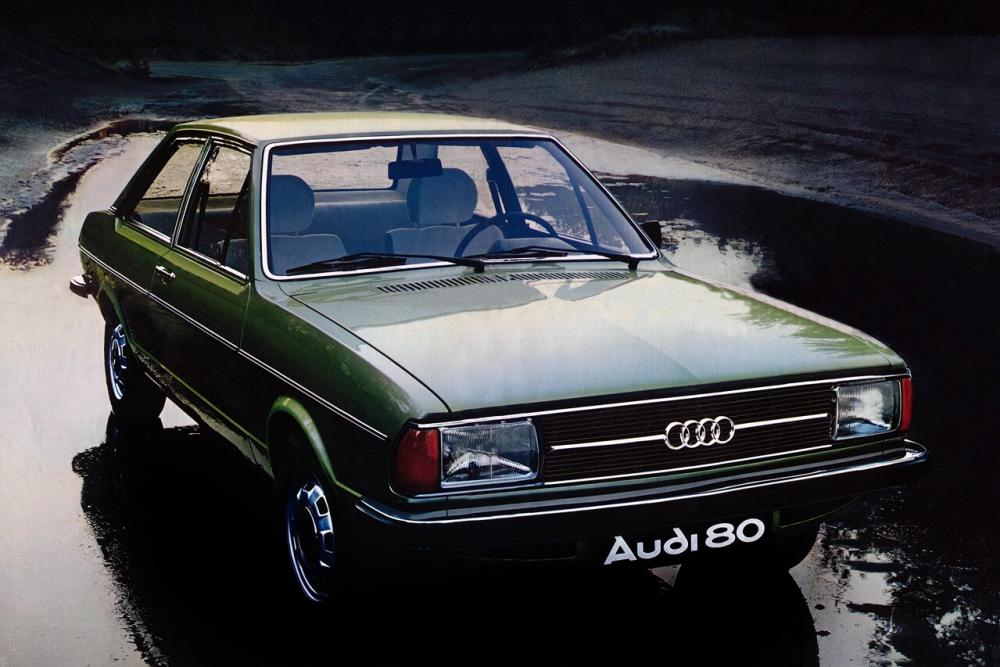 Audi 80 B1 [рестайлинг] (1976-1978) Седан 2-дв.