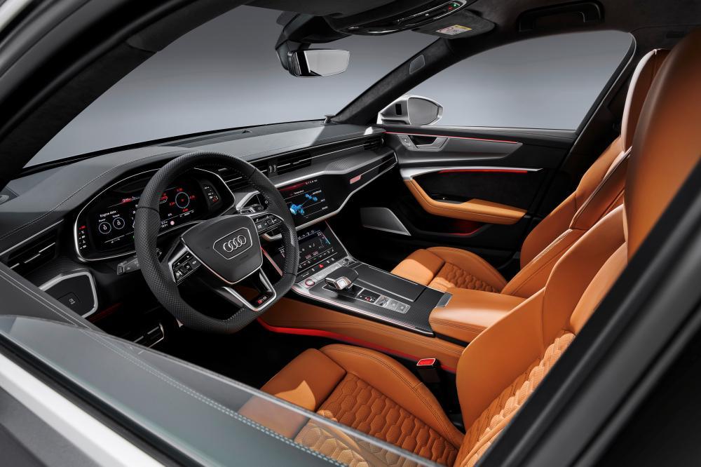 Audi RS 6 Avant C8 4 поколение интерьер