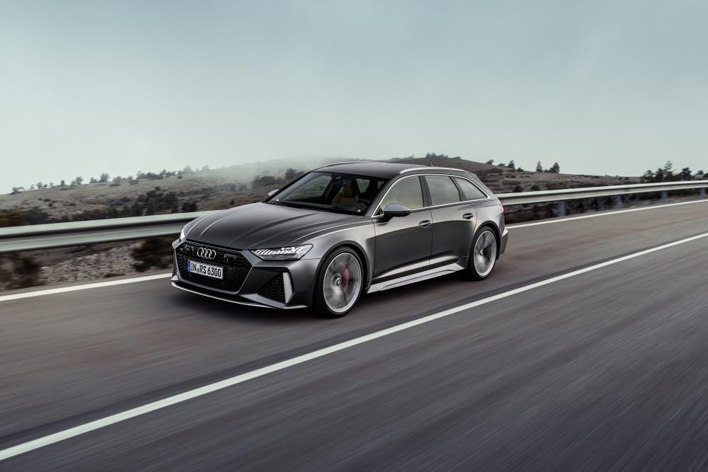 Audi RS Avant 6 C8 4 поколение динамика
