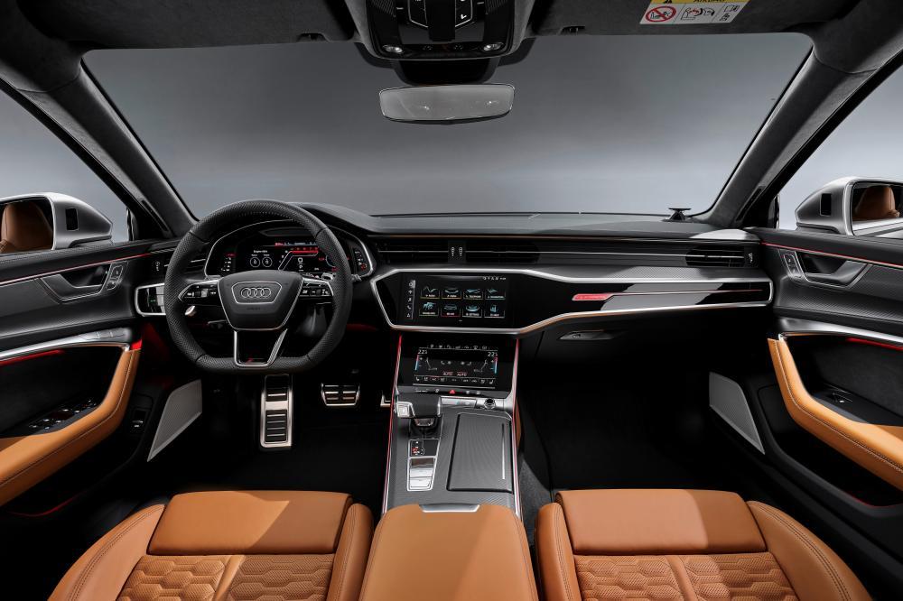 Audi RS Avant 6 C8 4 поколение передняя панель