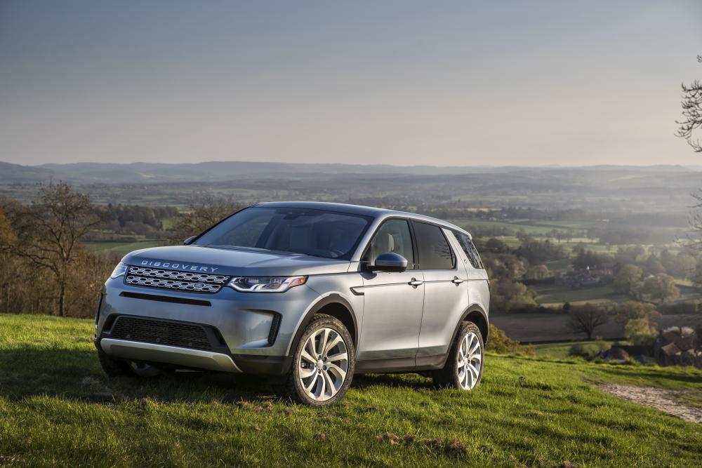Land Rover Discovery Sport 2 поколение вид спереди
