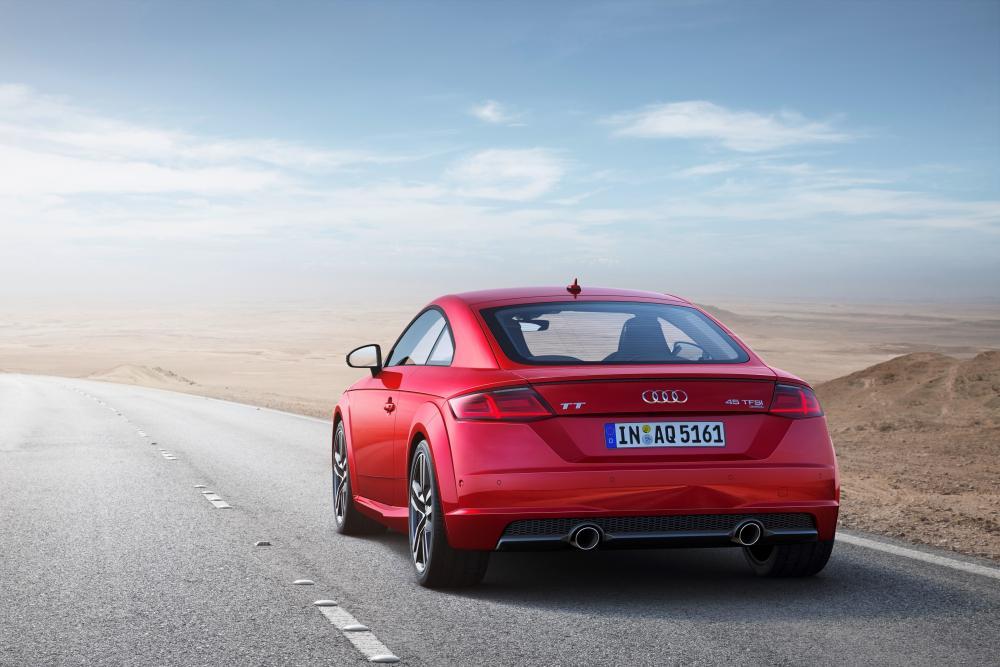 Audi TT 3 поколение 8S [рестайлинг] (2018)