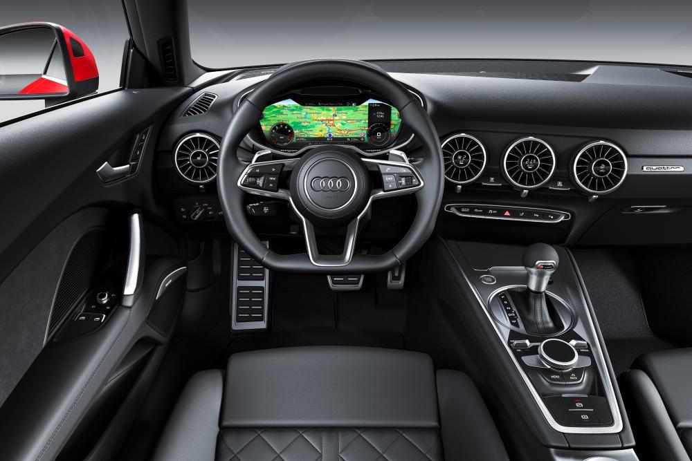 Audi TT 3 поколение 8S [рестайлинг] (2018) интерьер