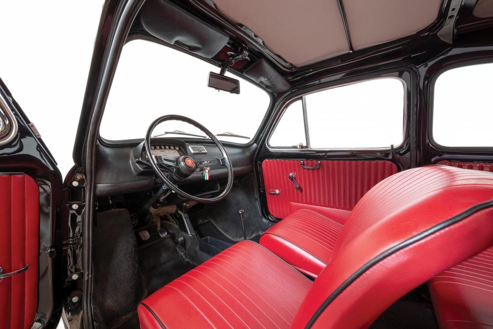 Fiat 500 1 поколение Хетчбэк интерьер