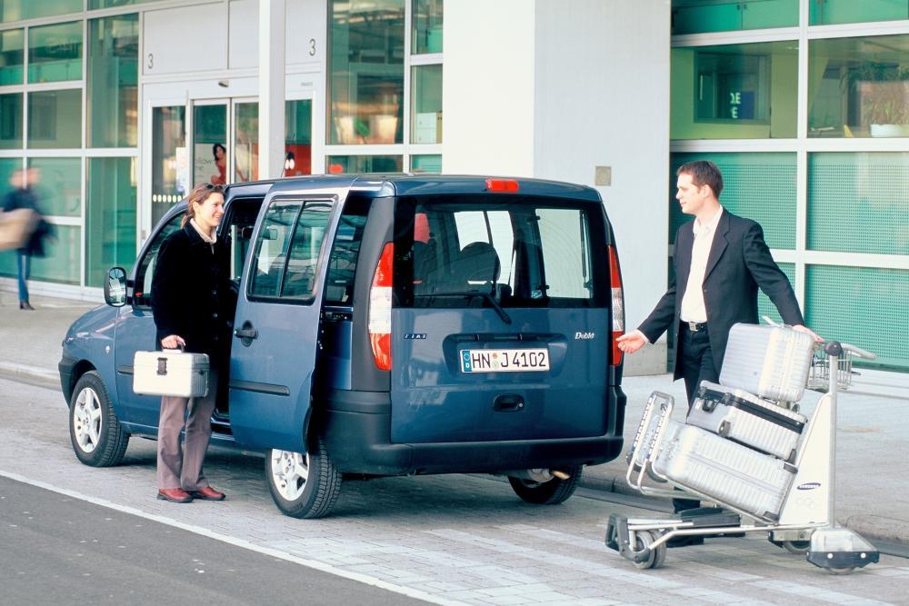 Fiat Doblo 1 поколение Минивэн