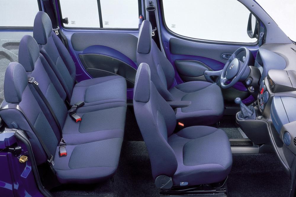 Fiat Doblo 1 поколение Минивэн интерьер