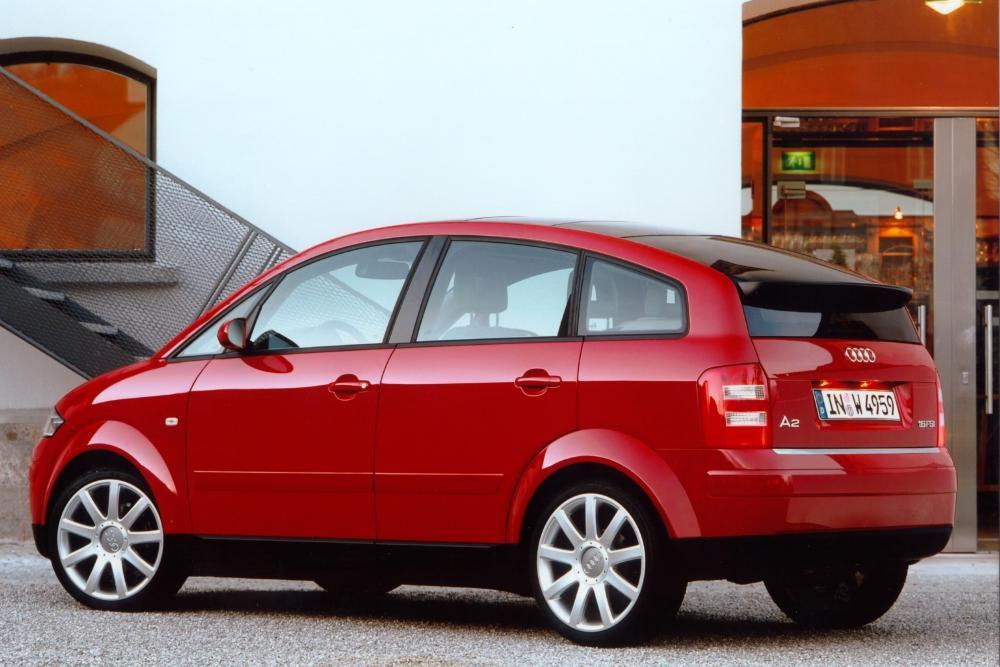 Audi A2 1 поколение 8Z (1999-2005) Хетчбэк 5-дв.