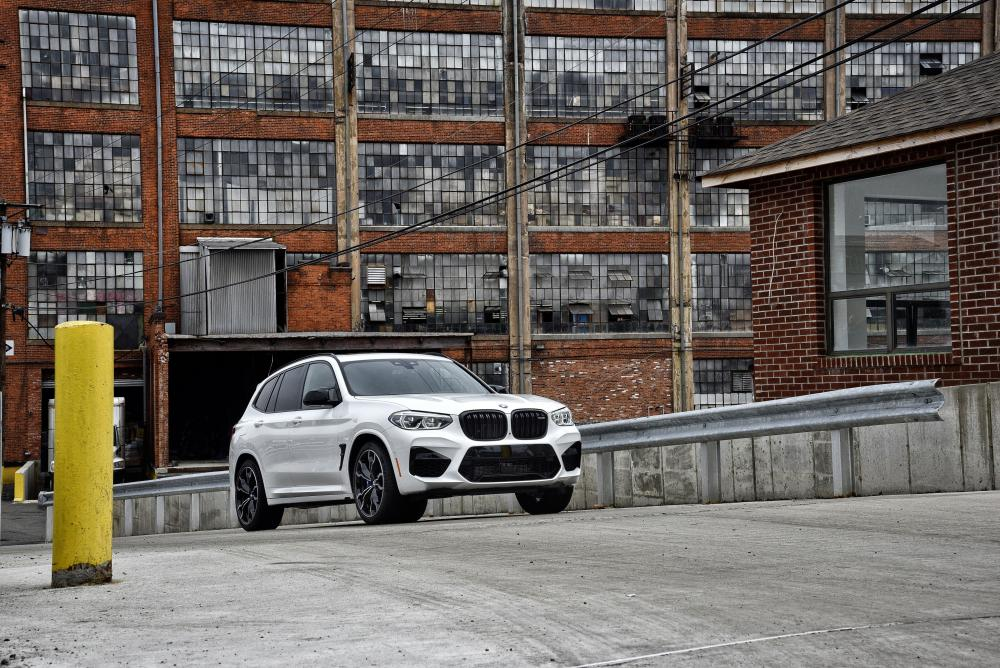 BMW X3 M 1 поколение (2019) кроссовер