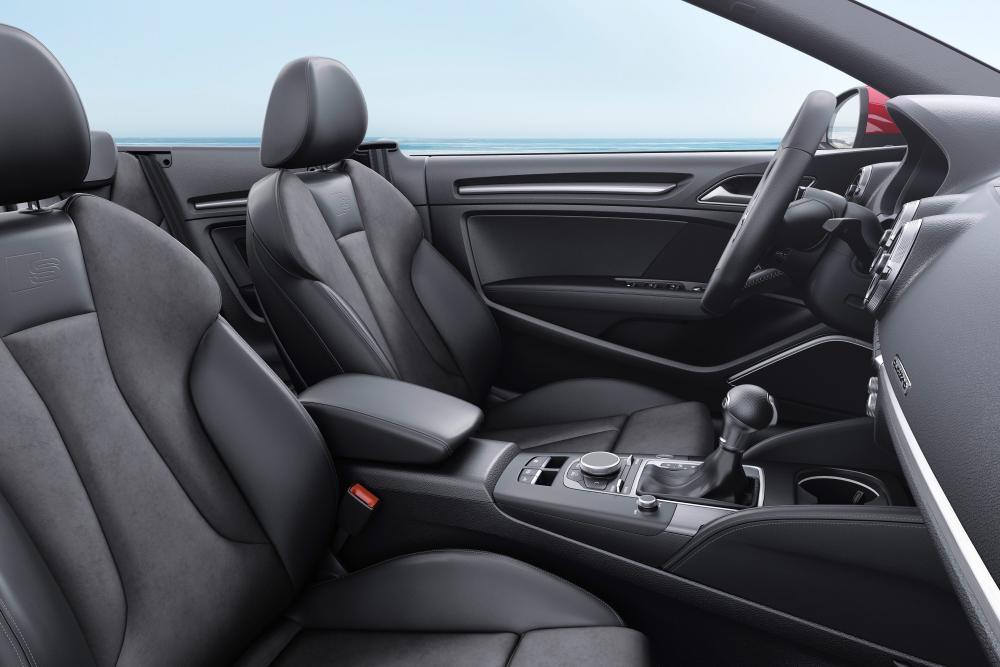 Audi A3 8V [рестайлинг] (2016-2020) Кабриолет интерьер