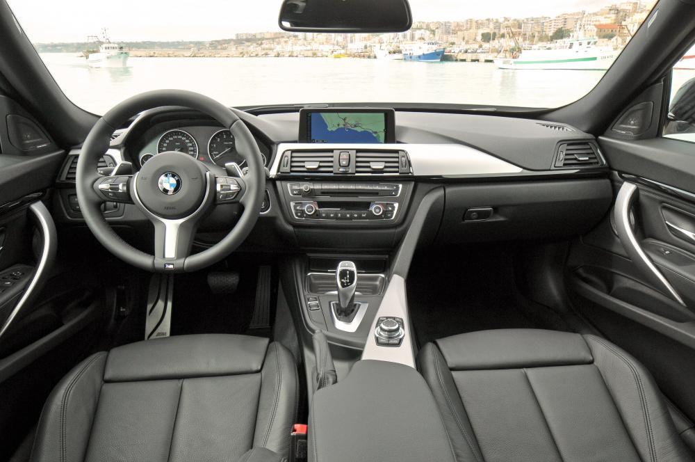 BMW 3 серия 6 поколение F34 Gran Turismo лифтбэк интерьер