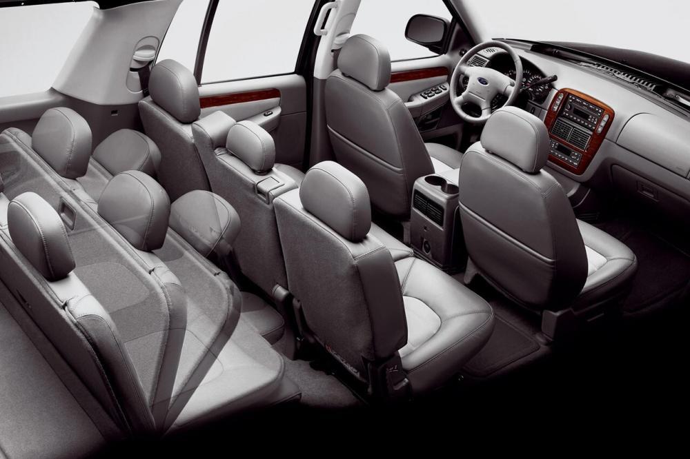 Ford Explorer 3 поколение интерьер
