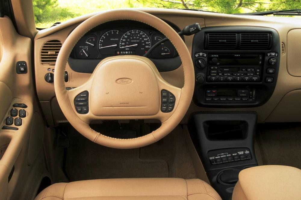 Ford Explorer 2 поколение внедорожник 5-дв. интерьер