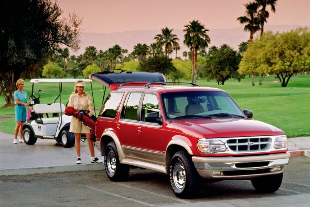 Ford Explorer 2 поколение внедорожник 5-дв.
