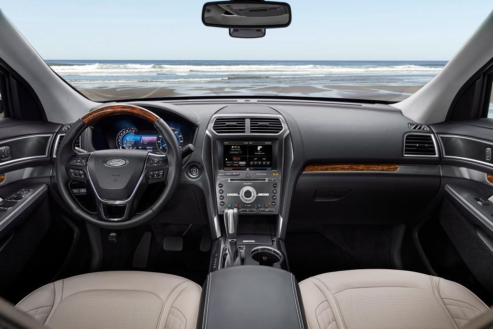 Ford Explorer 5 поколение рестайлинг интерьер