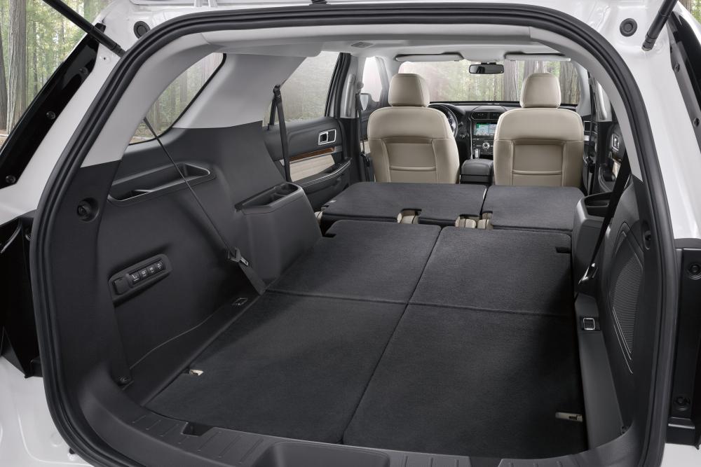 Ford Explorer 5 поколение рестайлинг багажник