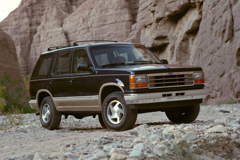 Ford Explorer 1 поколение внедорожник 5-дв.