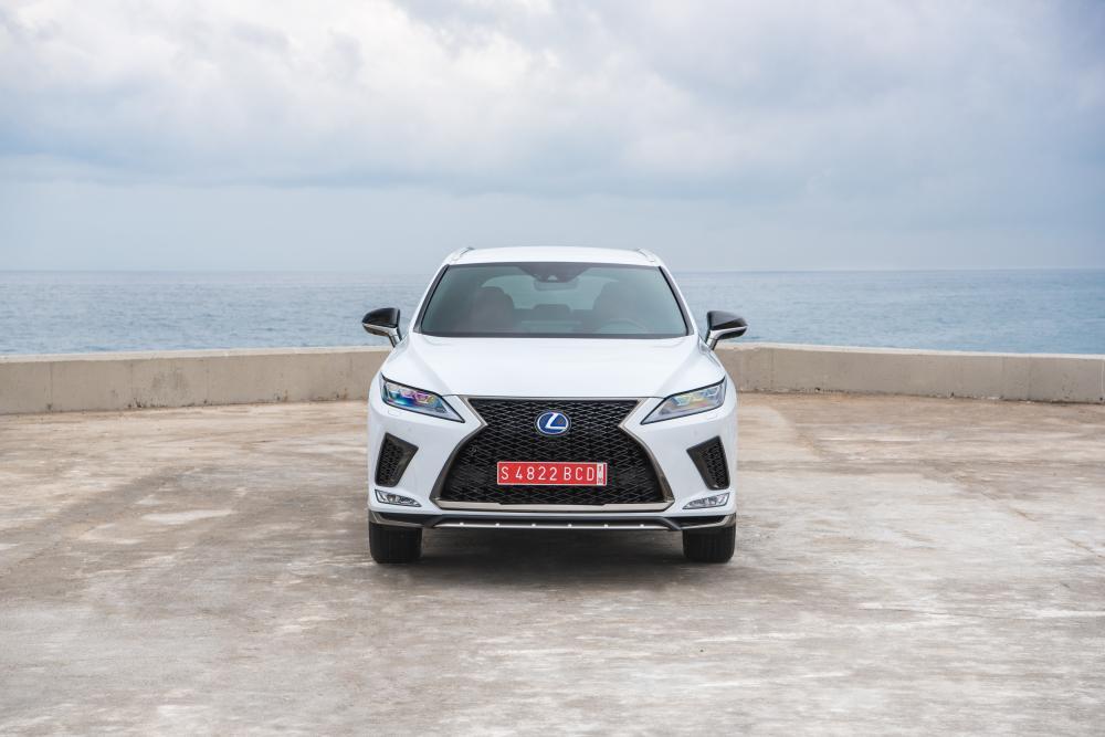 Lexus RX 4 поколение рестайлинг 2019