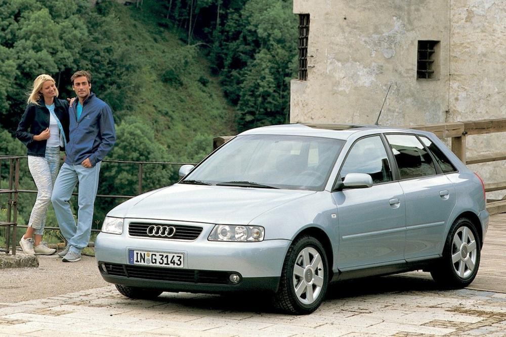 Audi A3 8L [рестайлинг] (2000-2003) Хетчбэк 5-дв.