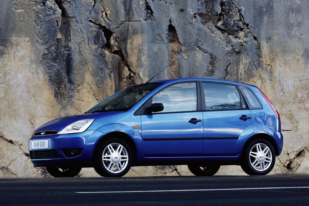 Ford Fiesta 5 поколение Хетчбэк 5-дв.