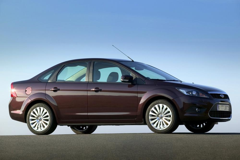 Ford Focus 2 поколение рестайлинг седан
