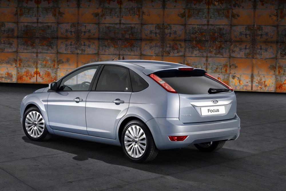 Ford Focus 2 поколение рестайлинг хетчбэк 5-дв.