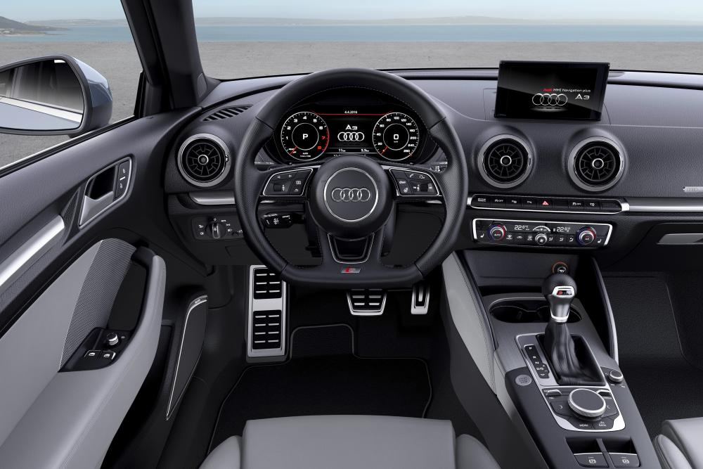 Audi A3 8V [рестайлинг] (2016-2020) Хетчбэк 3-дв. интерьер
