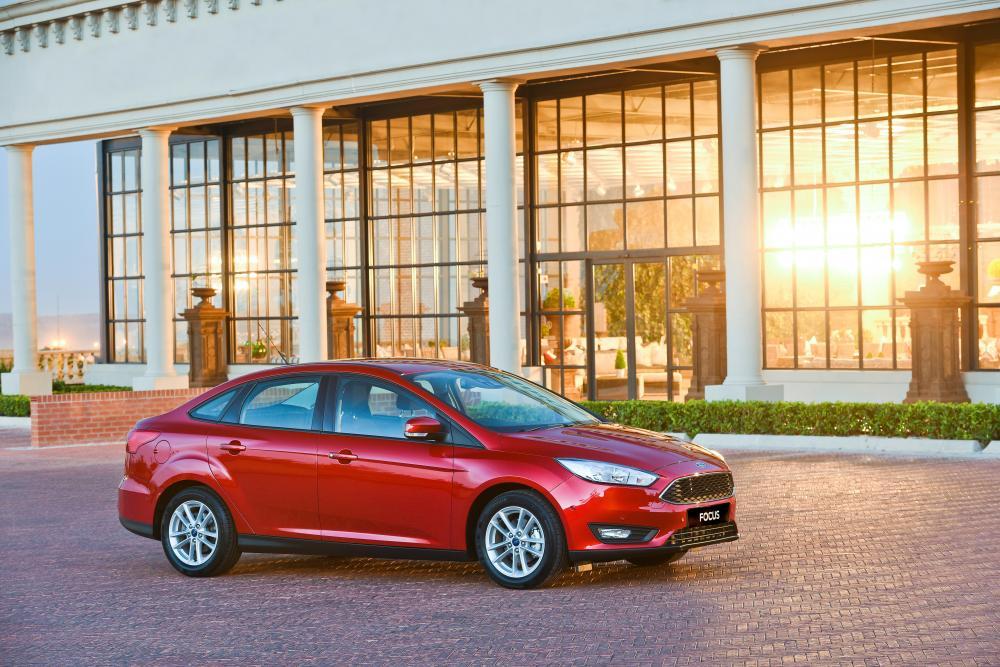Ford Focus 3 поколение рестайлинг седан