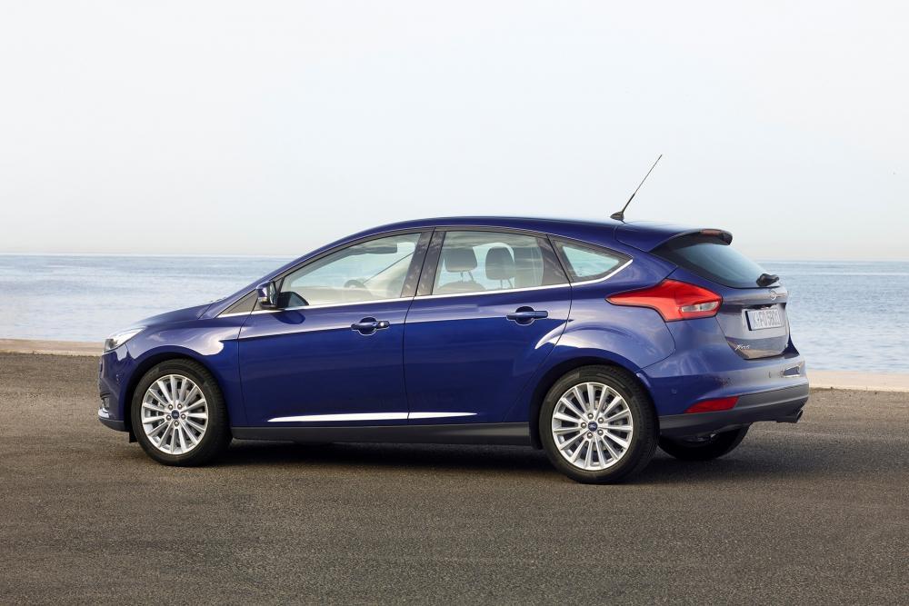 Ford Focus 3 поколение рестайлинг хетчбэк 5-дв.