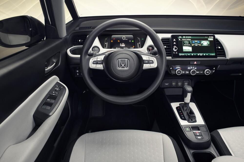 Honda Jazz 4 поколение (2020) Хэтчбек 5 дв. интерьер