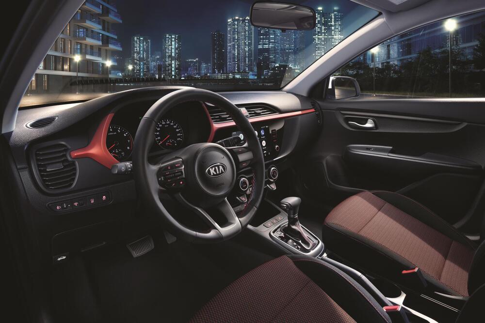 Kia Rio 4 поколение [рестайлинг] (2020) Хэтчбек 5 дв. X интерьер