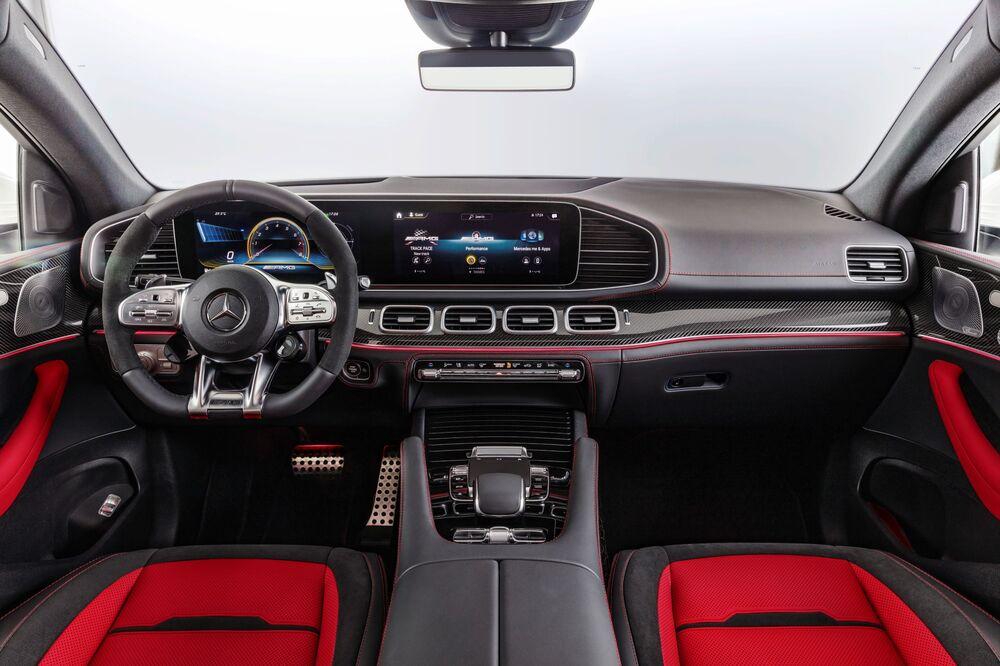 Mercedes-AMG GLE Coupe C167 (2019) Внедорожник 5 дв. интерьер