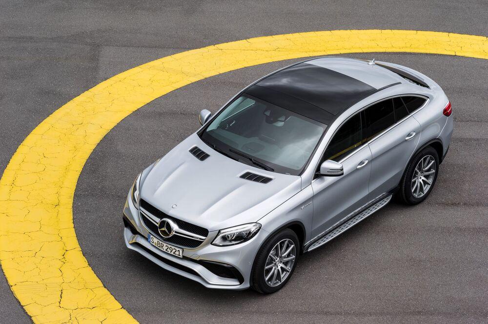 Mercedes-AMG GLE Coupe C292 (2015-2019) Внедорожник 5 дв.