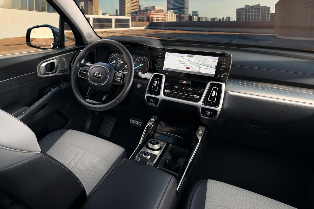 Kia Sorento 4 поколение (2020) SUV интерьер