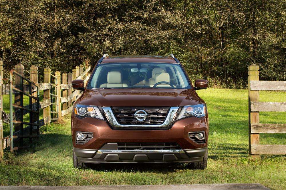 Nissan Pathfinder 4 поколение R52 [рестайлинг] (2016-2021)