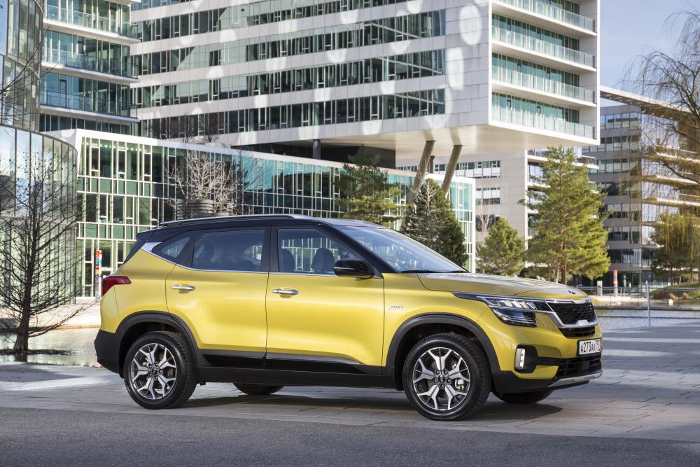 Kia Seltos 1 поколение (2019) SUV