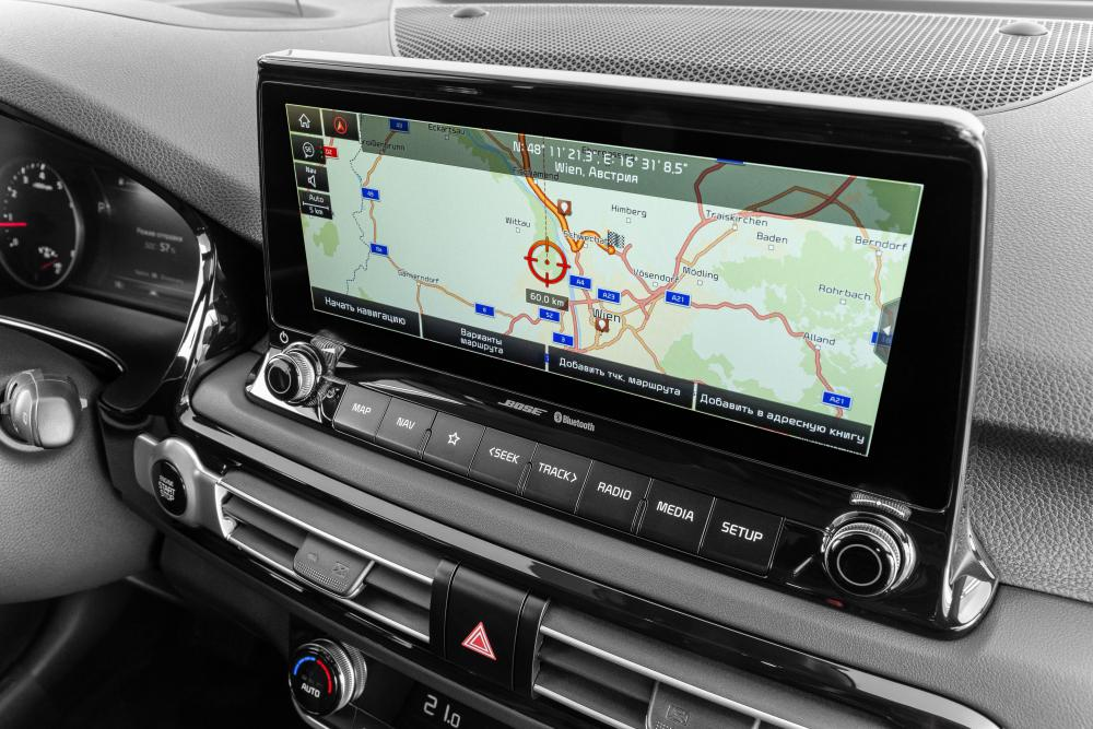 Kia Seltos 1 поколение (2019) SUV интерьер