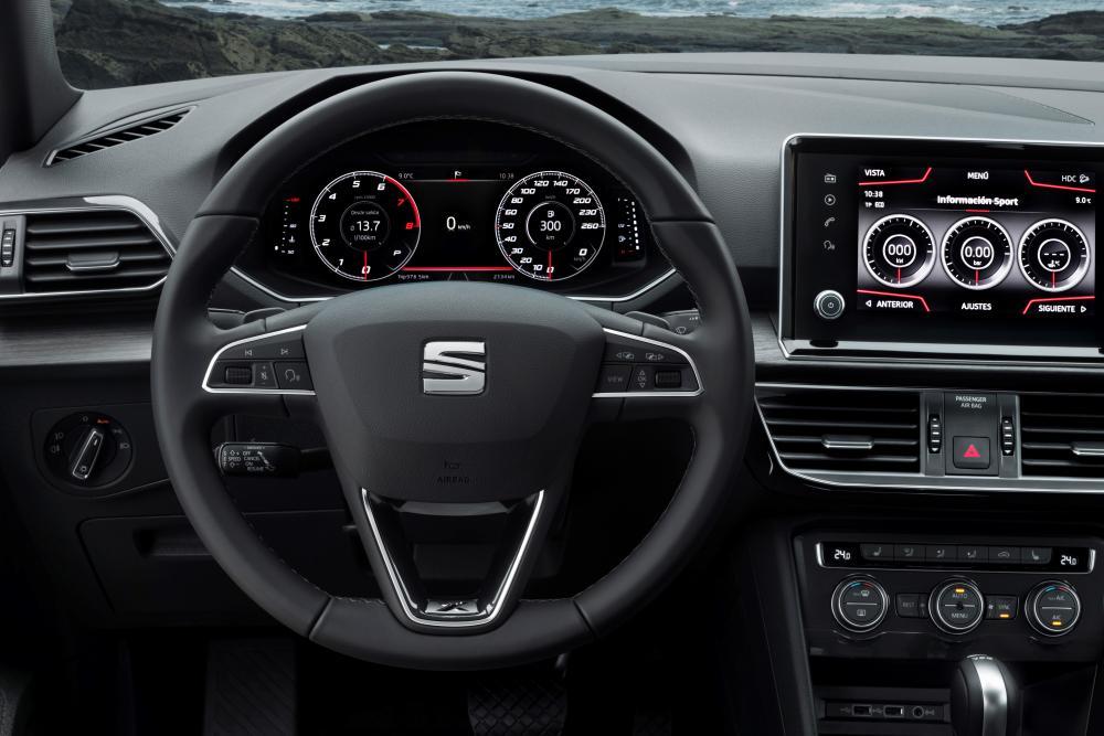 SEAT Tarraco 1 поколение интерьер