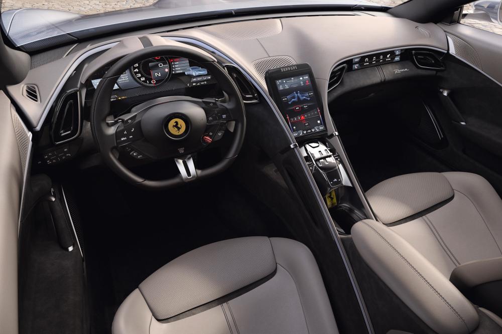 Ferrari Roma 1 поколение (2019) Купе интерьер